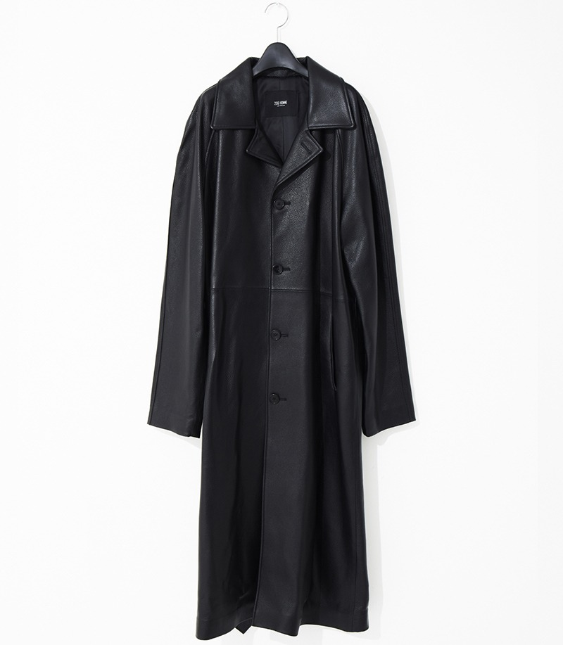 2020-21 F/W NEW COLLECTIONTRENCH NAGRANG SINGLE LEATHER LONG COAT(오버핏 & 기본핏 - 소가죽 & 양가죽 & 고트가죽)(LT-257)(남성용 + 여성용)