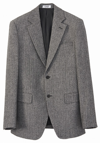 "HAND-MADE™ HERRINGBONE SLIM-FIT WOOL JACKET(JK-068)[배우 ""송중기"" 협찬제품]"