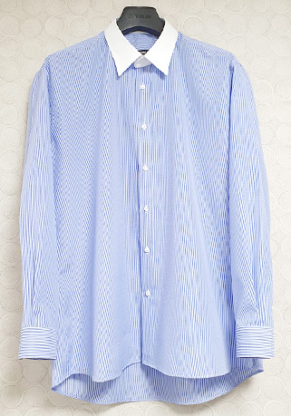 [206 HOMME by LEE YOUNG JUN]2020 S/S NEW COLLECTIONSEMI-OVER FIT™ SKY-STRIPE SHIRTS(SH-113)