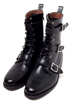 [206 HOMME]2020 S/S NEW COLLECTIONCROME BELTED HEART BOOTS(SS-038)