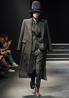"[206 HOMME]SEOUL COLLECTION""HYBRID""CASHMERE 100% WOOL PREMIUM LONG COAT(CT-033)"