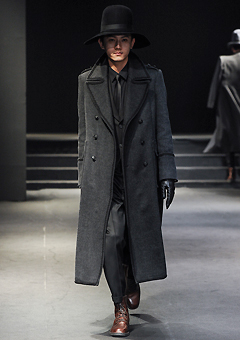 "[206 HOMME]SEOUL COLLECTION""HYBRID""NAPOLEON WOOL PREMIUM LONG COAT(CT-031)"